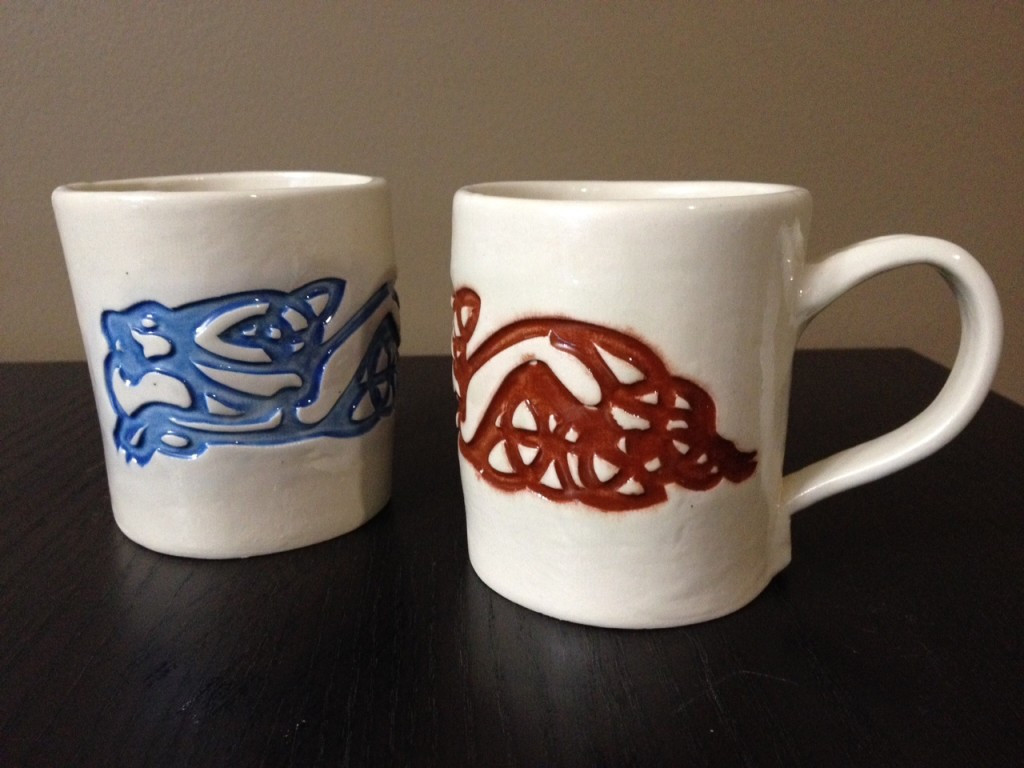 celtic dogs mugs